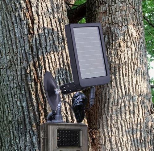 panneau solaire batterie chargeur rechargeable pour camera de chasse 7v olt pansolaire. Black Bedroom Furniture Sets. Home Design Ideas